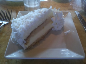 Pina Colada Cheesecake - The Cheesecake Factory